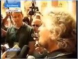 EURONEWS 19/09/07 - Focus Beppe Grillo (ver.francaise)