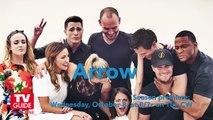 Arrow @ Comic-Con 2014! Stephen Amell! Katie Cassidy! Emily Bett Rickards!
