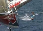 Trimaran Brossard tracte 2 wakeboard