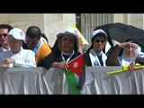 Pope Francis canonizes two Palestinian women in Saint Peter's Square - LoneWolf Sager(◑_◑)