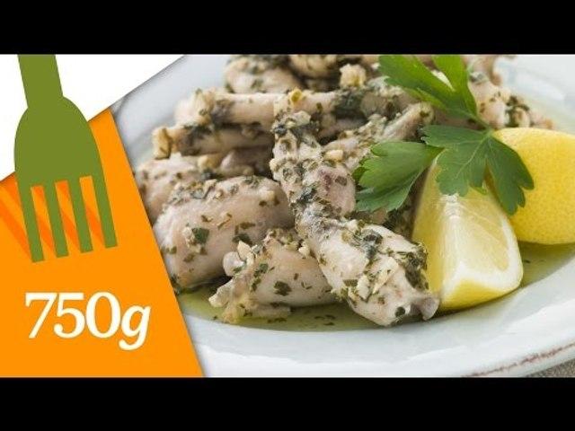 Comment préparer des cuisses de grenouille ? - 750 Grammes