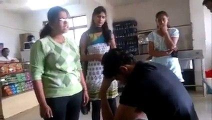 Watch What Happens When A Boy Caught In Girls Hostel