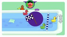 Play With Me Sesame Duckie Races Cartoon Animation Sprout PBS Kids Game Play Walkthrough