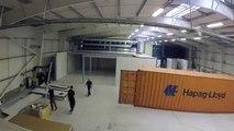 Thor Datacenter and AST Modular. Datacenter Modular Room Build.