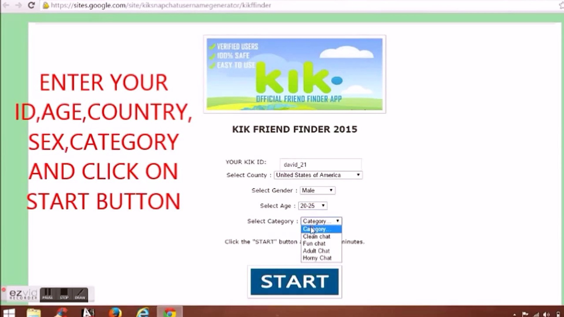 Kik sexting girl usernames
