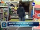 Persecución policial, balacera y dos delincuentes heridos en Rosario