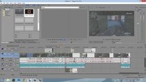 How to Group/Select all Clips in Sony Vegas