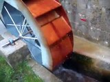 Home-made waterwheel