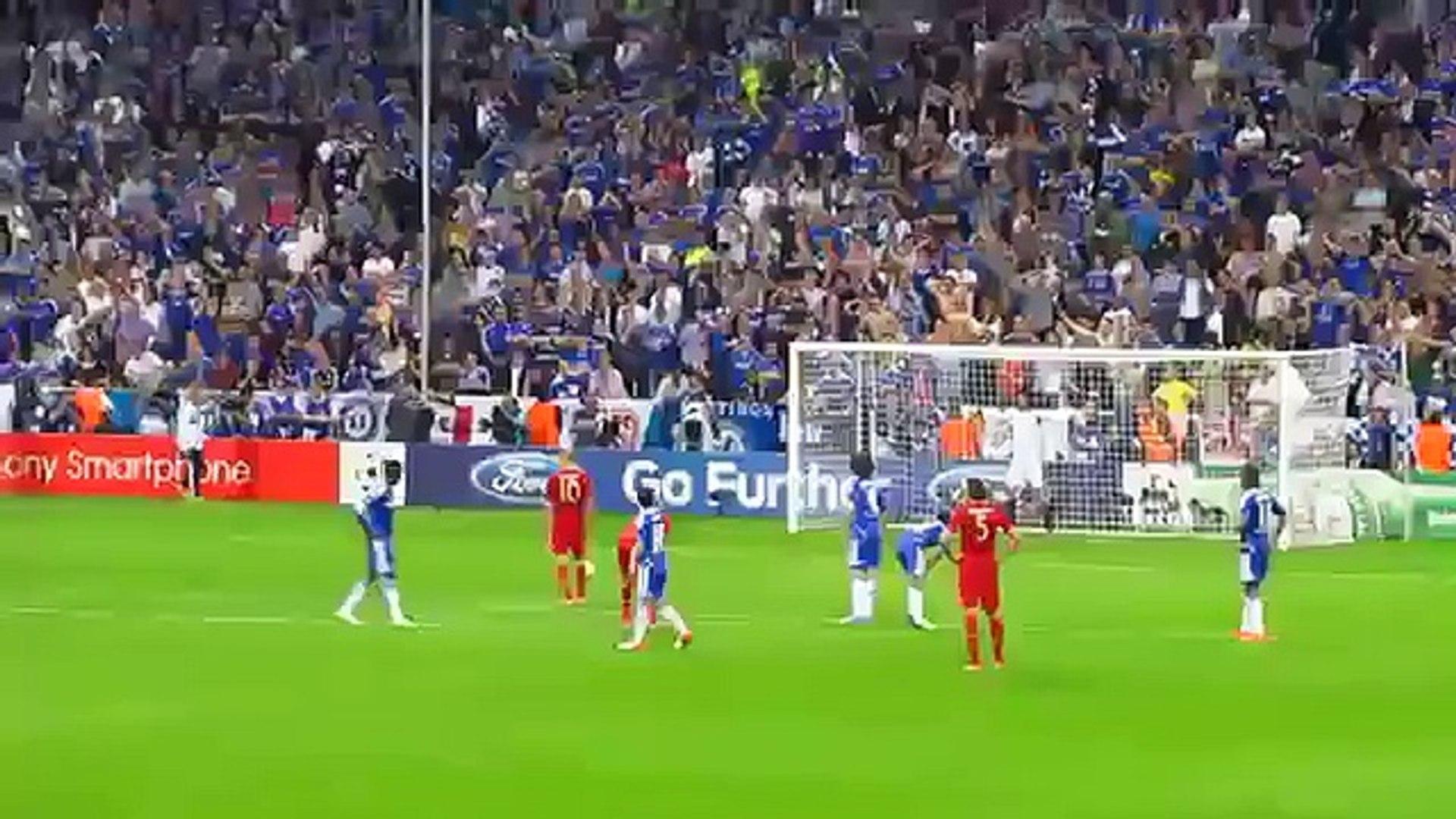 Cu da 11m qua hien cua Robben bi Petr Cech om gon