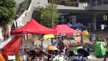 Occupy Central Hong Kong Protest for Democracy. Morning of October 7