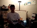 Keenan freaks out while playing Guitar Hero 2