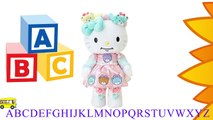 Hello Kitty Stuffed animal HUG stuffed Singing ABC Alphabet Song  ABC Songs for Children