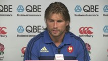 Rugby - XV de France - Angleterre-France : Szarzewski «Déçu du résultat»