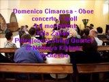 Domenico Cimarosa -  Oboe Concerto C moll 3-4 mov.