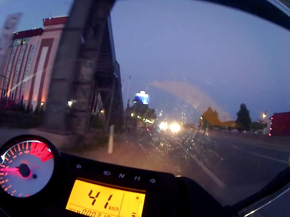 Hyosung GT250R JVC Action Cam Kocaeli