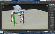 3D Max Mech Animation and basic rigging techniques