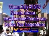 Obama comes to Phoenix Arizona so does Chris and his AR15 #2 08/17/09