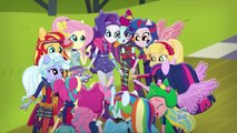 "My Little Pony Equestria Girls Latino América ""El Himno de Equestria Girls Friendship Games"" - HD"