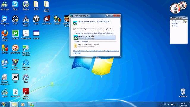 Microsoft Flight Simulator for Windows 95 on windows 7 INSTALL + RUN [HD]