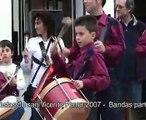 TAMBORADA 2007 CORNETAS Y TAMBORES EN OLIVA VALENCIA