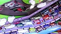 Cars 2 Play Doh Mold Build Lightning McQueen Car Luigi Guido, Mater Disney Pixar play dough toys