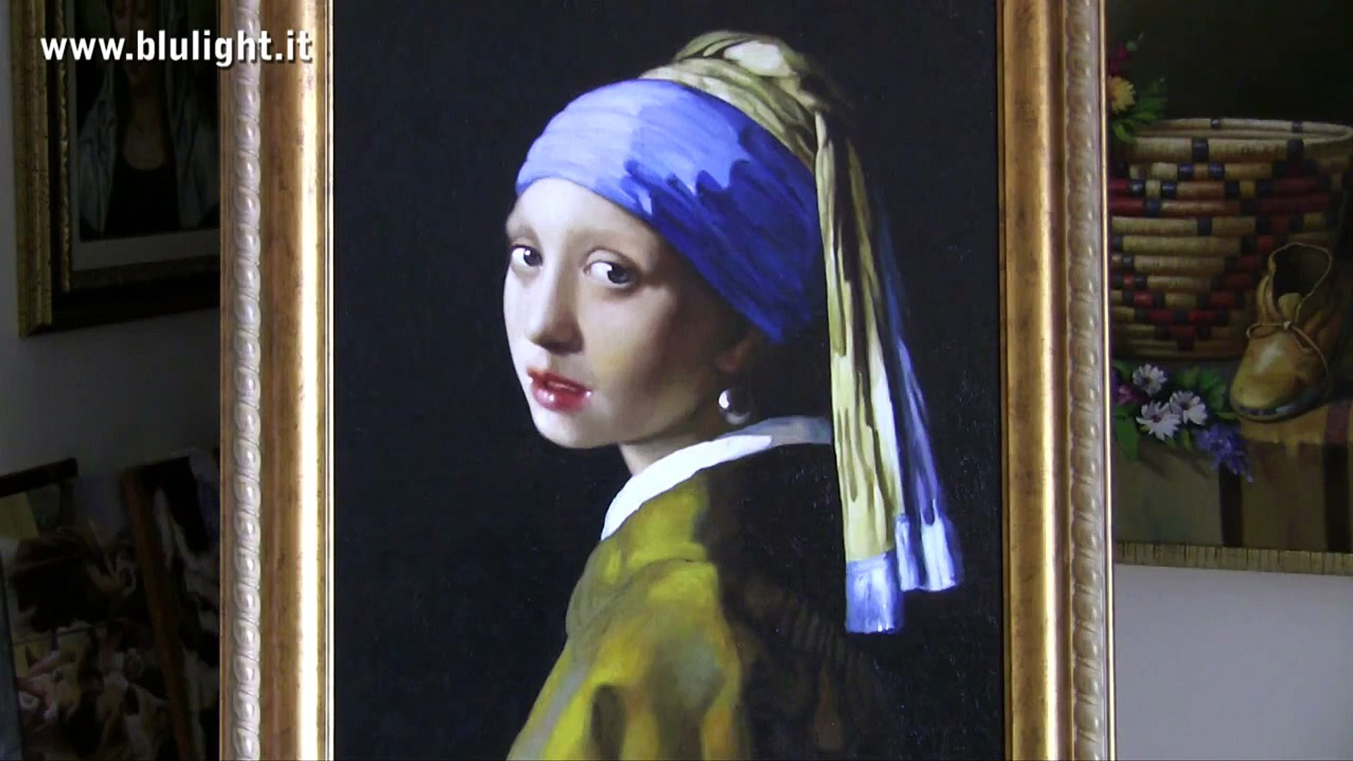 Ep.28 - JAN  VERMEER - GIRL WITH A PEARL EARRING - BLULIGHT GALLERY
