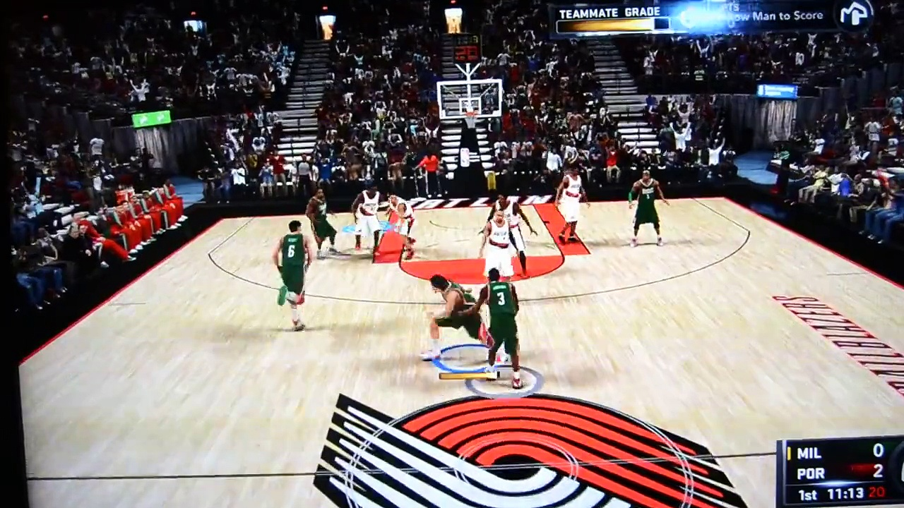 NBA 2K11 INVISIBLE BASKETBALL GLITCH