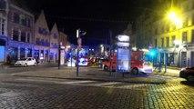 Lille : un appartement détruit par les flammes dans le Vieux-Lille