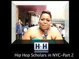 Hip Hop Scholars  Live @ Hip Hop Immortal Event, NYC/segment 2