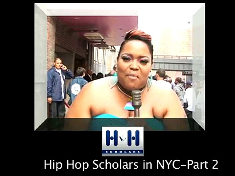Hip Hop Scholars  Live @ Hip Hop Immortal Event, NYC/segment 2