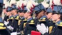 Triolmphe 2012 : Fin de scolarité pour la première promotion des élèves-officiers - juillet 2012