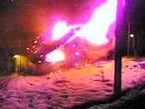 Incendio a Bersezio capodanno 2006/2007
