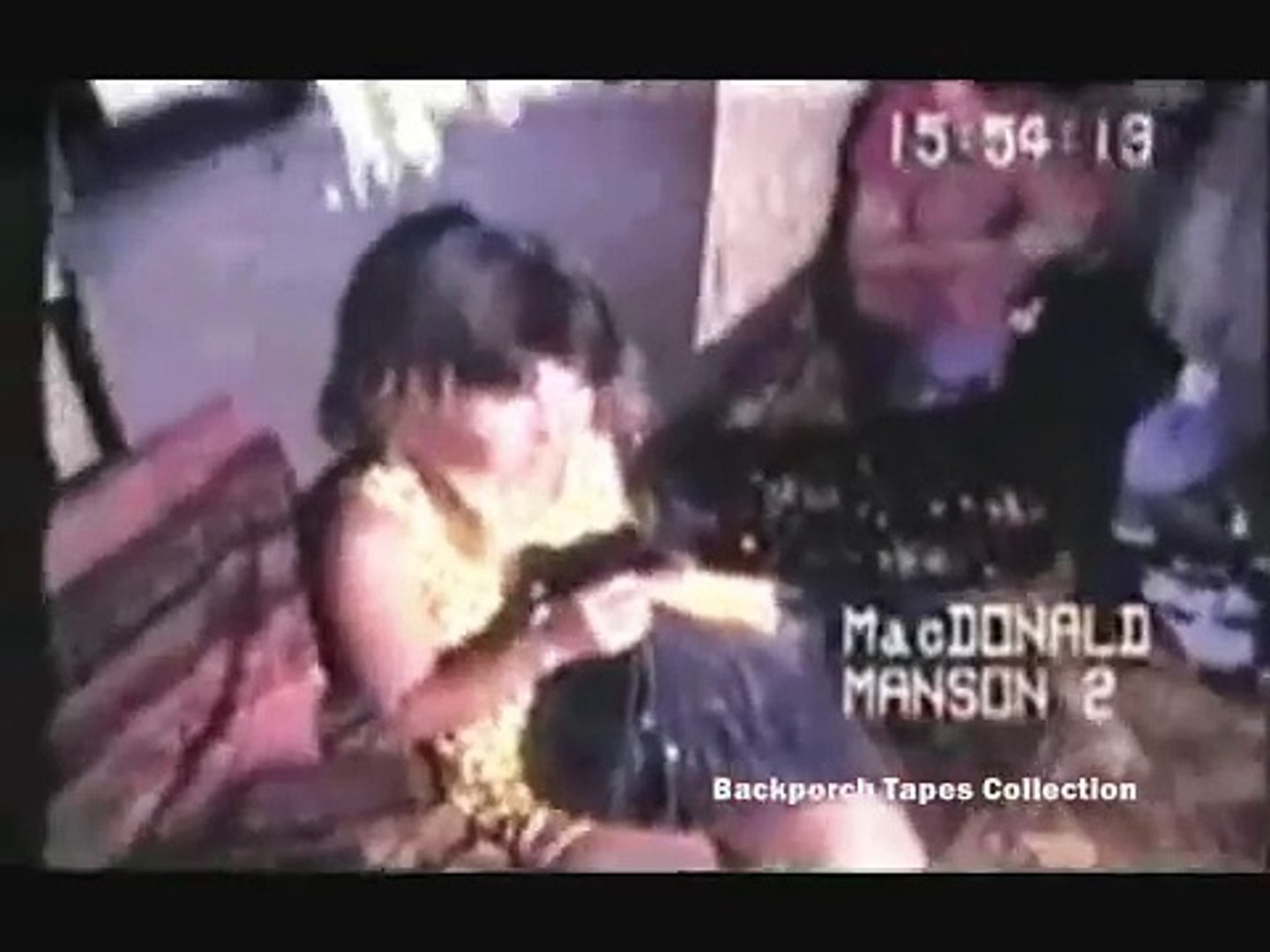 Spahn Ranch Rare film with Charles Manson Family there 1970 Backporch Tapes  Collections