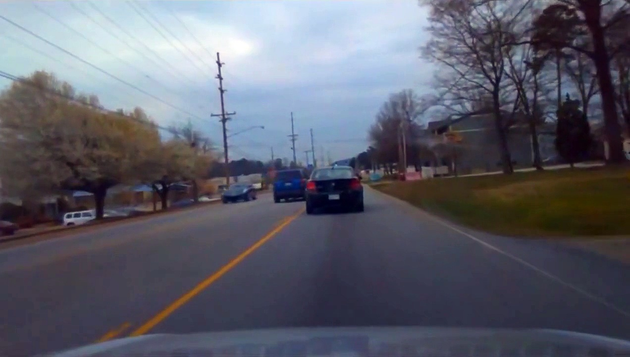 Idiot Texting While driving & An Aggressive driver