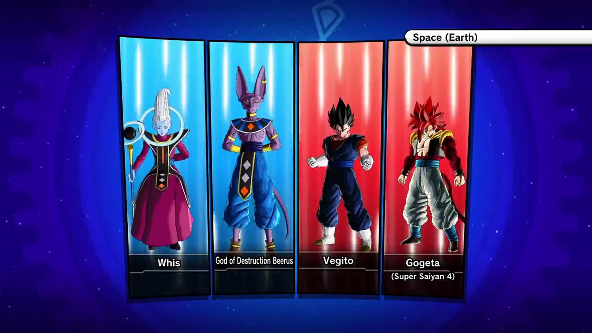 Beerus And Whis Vs Vegito And Ssj4 Gogeta Video Dailymotion