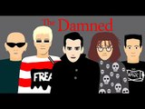 The Damned (Punk Band) - Face to Face With a Vampire cartoon.