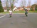 stunt moto scooter