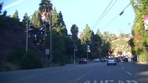 Driving On Sunset Blvd, Southern California (1 of 2)
