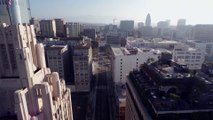 Les plus beaux points de vues de Los Angeles filmés par un drone