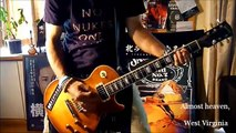 """Me First and the Gimme Gimmes """"Country Roads"""" Guitar Cover"""