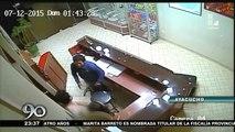 Adriano Pozo Arias también ataco a serenos que lo intervinieron fuera del Hotel -  15/07/2015