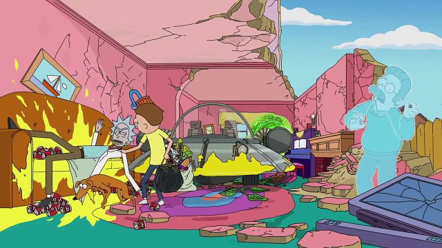 THE SIMPSONS   Robot Chicken Couch Gag   ANIMATION on FOX