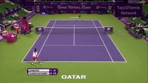 【HD】Ivanovic vs Suarez Navarro Highlights (Doha 2012)