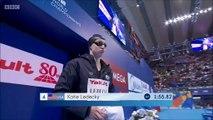 200m libre F (demi-finales) - ChM 2015 natation (Pellegrini, Franklin, Ledecky, Bonnet, Hosszu)