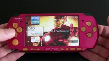 Custom Sony PSP 3000 - Avengers Iron Man PlayStation Portable 8GB (MINT)