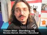 Interview de Nicolas Barcet d'Ubuntu, lors de Solutions Linux 2008