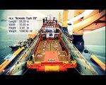 M/V Combi Dock IV in FLO/FLO operation