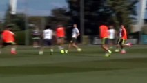Cristiano Ronaldo , Marcelo, Kroos - Amazing Passes on Real Madrid Training 14-08-2015