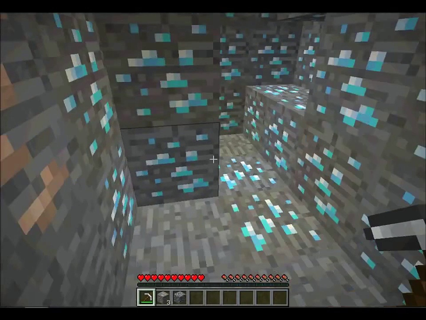 Minecraft The Best Seed Ever Herobrine 5 Spawners And Diamonds 1 8 1 Video Dailymotion