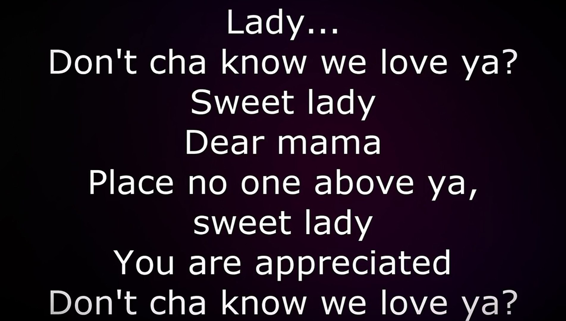 Tupac - Dear Mama (Lyrics)
